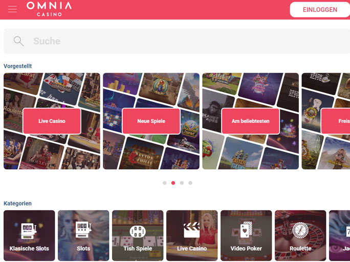 Omnia Casino casino review
